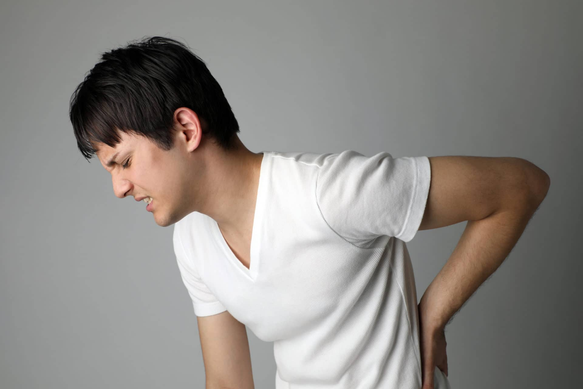 Lower-back pain symptoms